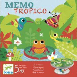 Társasjáték - Esőerdő - Mémo Tropico