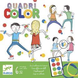 Társasjáték - Négyszín - Quadricolor