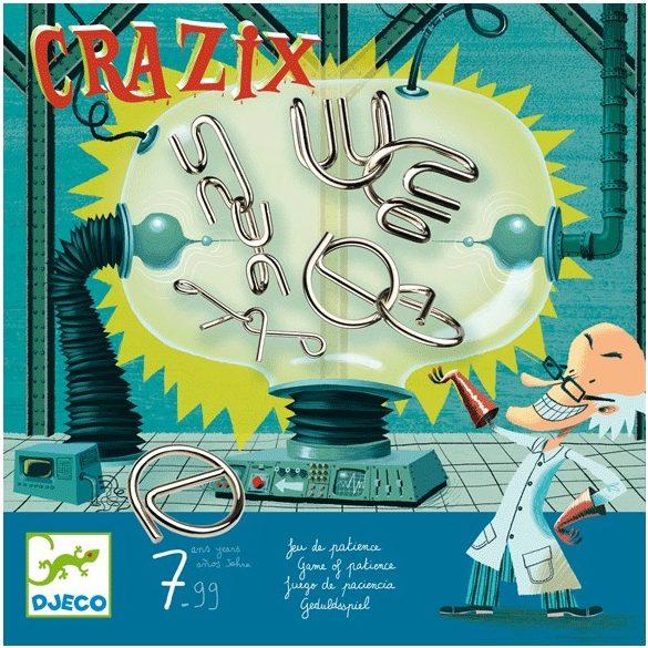 Logikai játék - Fém ördöglakatok - Crazix
