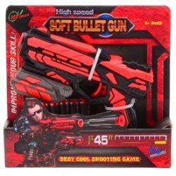Serve&Protect 18 cm játékpisztoly 6 db szivacslövedékkel