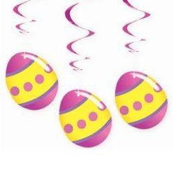 Húsvéti függő dekoráció - tojás