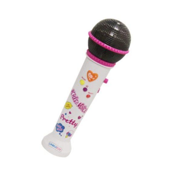 Party mikrofon fénnyel és hanggal