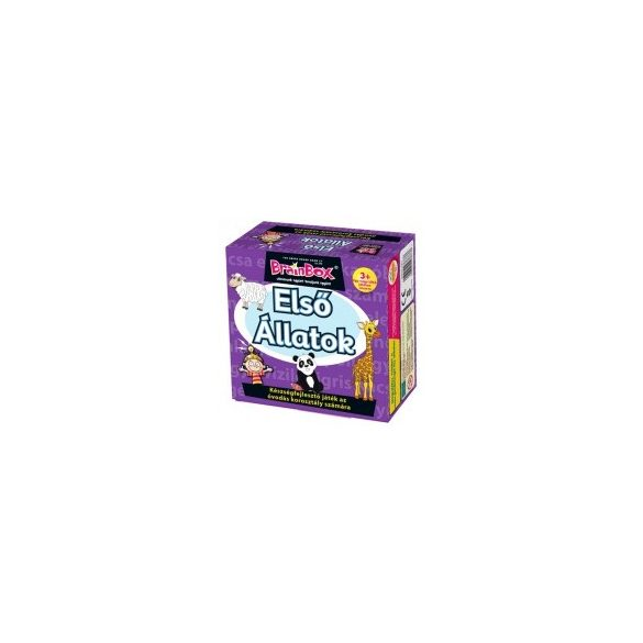 BrainBox Első állatok társasjáték 93673