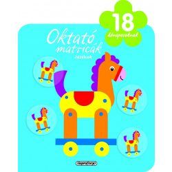 Oktató matricák - Játékok (18 hónaposoknak)-Napraforgó