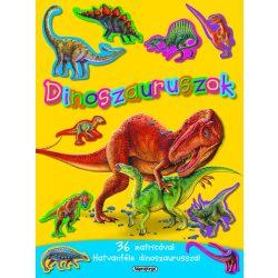 Mozgalmas matricásfüzet - Dinoszauruszok  - Napraforgó