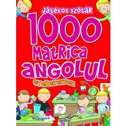 1000 matrica angolul gyerekeknek - Játékos szótár-Napraforgó
