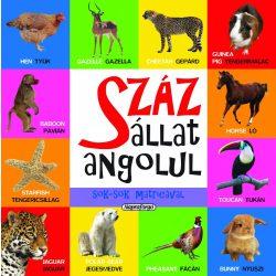 Száz állat angolul sok-sok matricával-Napraforgó