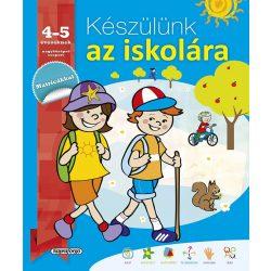 Készülünk az iskolára - 4-5 éveseknek  - Napraforgó
