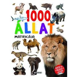1000 állat matricája - Fehér Napraforgó