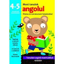 Most tanulok... angolul (4-5 éveseknek)  Napraforgó