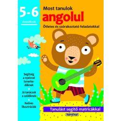 Most tanulok... angolul (5-6 éveseknek)  Napraforgó
