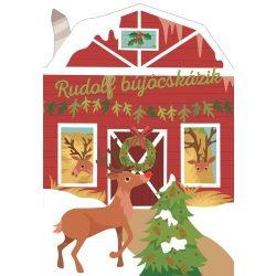 Karácsonyi lapozó - Rudolf bújócskázik