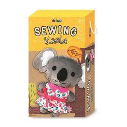 Varrható plüss kocka dobozban Koala Avenir