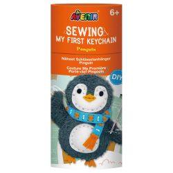 Varrható plüss kulcstartó Pingvin Avenir