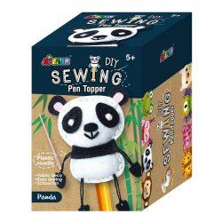 Plüss ceruzadísz varrás, Panda Avenir