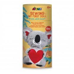 Plüss varrás Koala szívvel Avenir