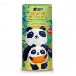 Plüss varrás Panda a kicsinyével Avenir