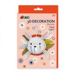 3D dekorációs puzzle, Nyuszi Avenir