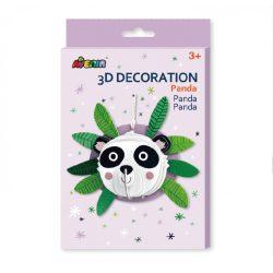 3D dekorációs puzzle, Panda Avenir