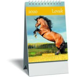 Képes asztali naptár mini LIZZY (15,3x10,6) 2020 lovak