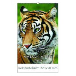 Falinaptár (22X33) 2020 VADÁLLATOK T094-08