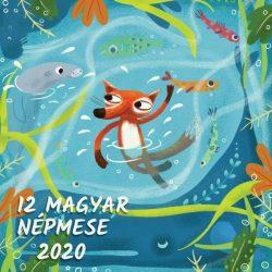 Falinaptár lemez (29X58) 2020 12 MAGYAR NÉPMESE T098-12