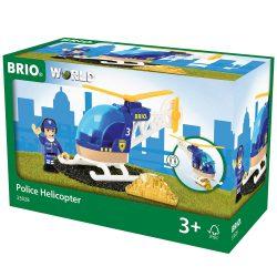 Rendőr helikopter 33828 Brio