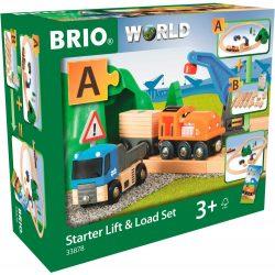 Kezdő szett  munkagéppel Brio