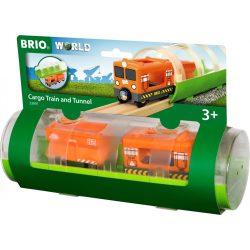 BRIO Teherszállító vonat alagúttal