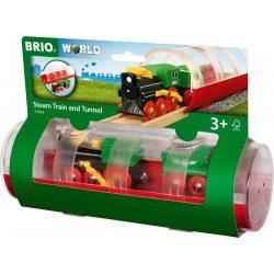 BRIO Gőzmozdony alagúttal