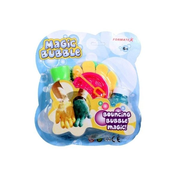 Magic bubble készlet - zöld