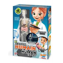 Tudományos készlet-Az emberi test Buki