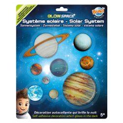 Sötétben világító égbolt- Glow-in-the-dark solar system BUKI