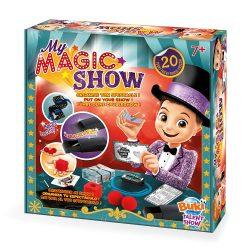 Mágikus Show - 20 Bűvésztrükk BUKI