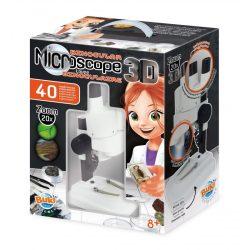 3D Mikroszkóp 40 kisérlettel BUKI