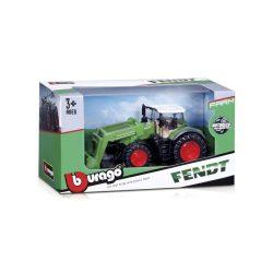 Bburago 10 cm traktor - New Holland/Fendt emelővel