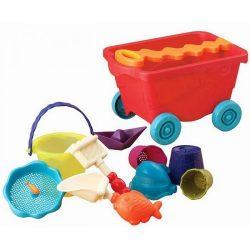 B.Toys Utazó homokozó strandkocsi - Paradicsom (1-4 év)