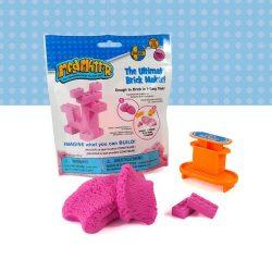 Mad Mattr Ultimate Brick Maker kockagyár pink - 57 gr gyurma