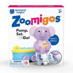Zoomigos - kézügyesség fejlesztő elefánt járgányban Learning Resources