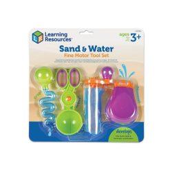 Finommotorikát fejlesztő készlet Sand&Water
