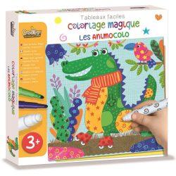 Mágikus szinező- állatok-Coloriage magique les animocolo