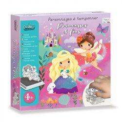 Mese Nyomdakészlet- Hercegnők és tündérek-Princesses&Fées