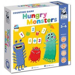 Fejlesztő játék, Éhes szörnyecskék- Tanulj meg számolni! Captain Smart