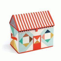 Tárolódoboz - Játékház - House toy box