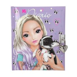 TOPModel Kutyusos lila napló lakattal
