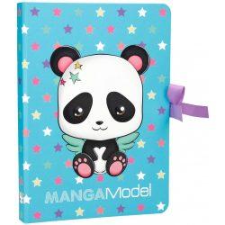 MANGA jegyzettömb mappában A/5 panda