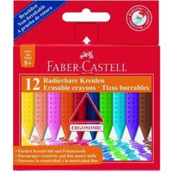 Zsírkréta törölhető 12 db Grip Faber-Castell