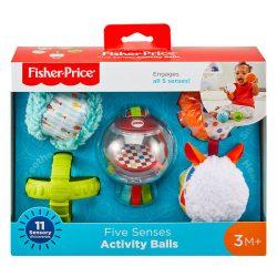 Fisher Price-Öt érzék foglalkoztató labdacsomag