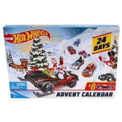 Hot Wheels adventi naptár