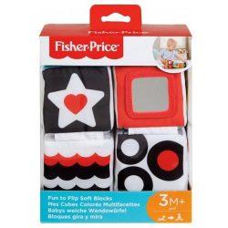 Fisher Price-Hajtogatható puhakockák